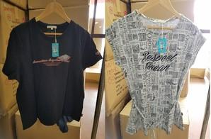 PIKO アニメキャラクターコラボ商品 レディースシャツ 3種 65枚入り