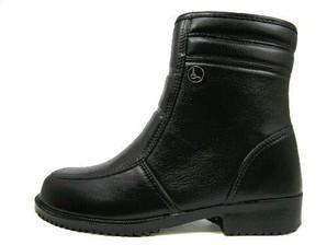 【TOROY】トロイ メンズ 防寒ブーツ 内側ボア(起毛ライニング) サイドジッパー