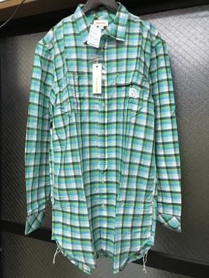 ディーゼルのチェックシャツになります、Lサイズ1点のみ! $195 定価2万円以上します!