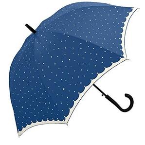 レディス 60cm 耐風長傘キラキラ 2色12本入り 34415・34416