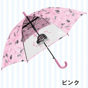 女児 50cm ミュージックスターバンド柄傘 12本入り 31045