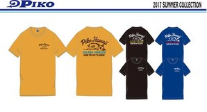 PIKO Men'sプリントTシャツ 1セット PKM137330枚入り!!