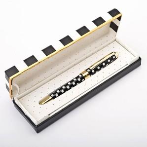 kate spade ケイトスペード BLACK DOTS ボールペン 5個セット 133745