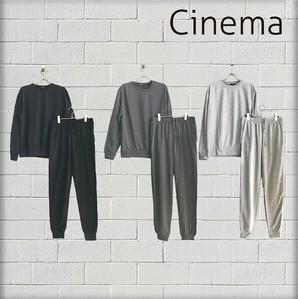 SALE!!【CINEMA/シネマ】メンズ ミニ裏毛 上下セット 3色展開 15組入り 品番:185-7006