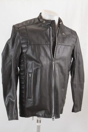 巨匠のサンプルシリーズ!Brimaco メンズ カナダ製 本革ライダースジャケット 貴重な新品 画像使えます!1枚だけ