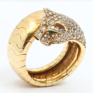 カルティエ ダイヤモンド パンテール リング 指輪 USED商品