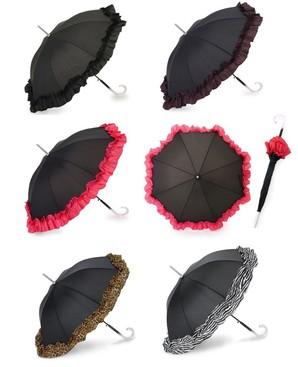 処分!ACCENTS Tokyo(アクセンツトーキョー) すてきパラソル フルール UVカット率97%以上 長傘(雨・日傘兼用)