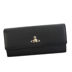 (ヴィヴィアンウエストウッド)Vivienne Westwood 財布 長財布 51060022 BALMORAL ブラック [並行輸入品]