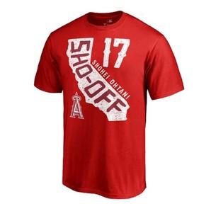 エンゼルス 大谷翔平 話題のNEWデザインTシャツ 2柄 1枚から購入可能 USA正規商品