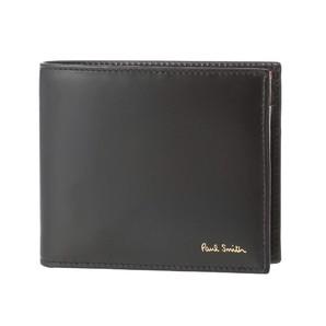 ポールスミス(PAUL SMITH) メンズ 二つ折り財布  AUXC 4833 W761A 79 Black