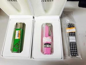 お宝発見Σ(゚Д゚) GIVENCHY 【ジバンシー】 ガスライター  3個SET★上代¥6500~¥8500