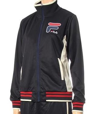 【フィラ/FILA】レディス 裏起毛ジャージ スタンドジャケット 3色展開 12枚セット 品番:446-630