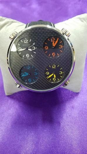 在庫処分SALE![シュラ] SYULLA 腕時計 ロトンダトンダ 本革バンド使用 1個売り