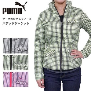 プーマ ゴルフ レディース パデッドジャケット PUMA 902301 中綿 軽量 ライト ジャケット アウター 定価19000円が激安!2セットだけ