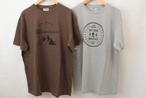 キングサイズ 紳士 綿100% プリントTシャツ 2柄アソート  20枚セット 29-40526