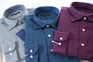 G-STAGE 高級 メンズ 長袖プリントシャツ3色展開 9枚セット! 2017年最新モデル