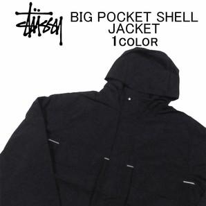 【STUSSY】ステューシー ビックポケットJKT  Big Pocket Shell JKT