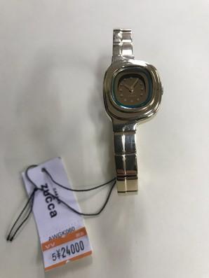ZUCCA 時計1点のみ 定価24000円 ズッカ