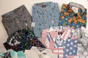 VOLCOM メンズ 半袖シャツ 混み混み30枚セット
