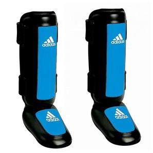 Adidas ProスタイルKickboxing Shin Instep Guards – ブラック/ブルー