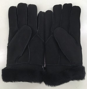 紳士 ムートン手袋 12個セット