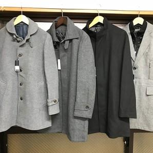 高級アパレルメーカー メンズウール混高級コート 10枚服箱