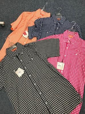 【PUMA/プーマ】メンズ キンガムチェック 半袖シャツ こみこみ 46枚入り 1セット限り!!定価13000円