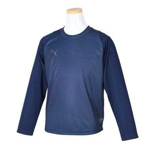PUMA ジュニア FTBLNXT LS グラフィックシャツ  656060