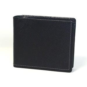 U.P renoma 二つ折り財布 (ホック小銭入れ) 61r603 レノマ 牛革 シンプル メンズ