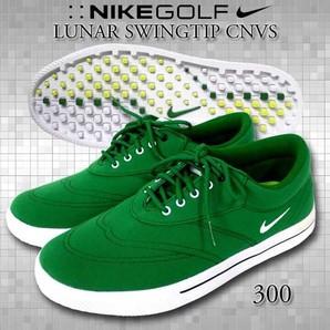 NIKE ナイキルナスウィングディップ キャンバスゴルフ靴 1足売り!!2サイズ