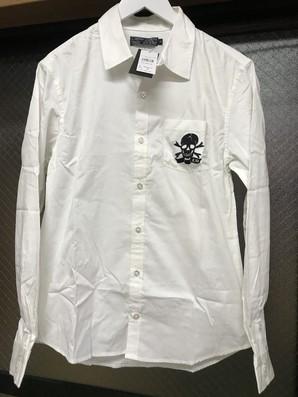 土曜市!エドハーディー 刺繡シャツ 定価15800円 Mサイズ 1着のみ!半額にしちゃった!