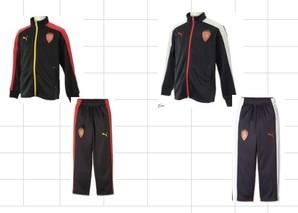PUMA KIDS トレーニングジャケット・パンツセット8組入り 753153・753154