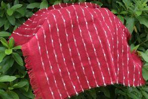 超高級 今治産の細番手の糸で織り上げた「和み織」の大判ハンカチ 300枚買うと凄い安い!