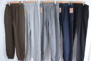 メンズ TC裏起毛ジョガーパンツ 5色展開 3サイズ 30枚入り