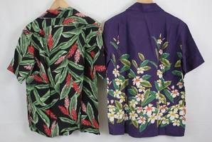 PIKO メンズ 日本製レーヨン素材を使用した アロハシャツ