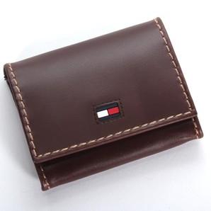 【TOMMY HILFIGER】 トミーヒルフィガー コインケース ブラウン    Highland ハイランド 小銭入れ 財布