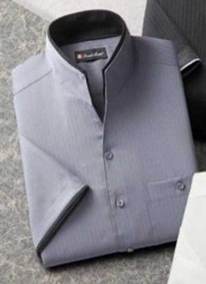 1セットのみ!フランクミッシェル メンズ 5分袖ドレスシャツ 195円!