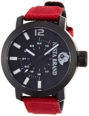 在庫処分特価![ネスタブランド]NESTA BRAND 腕時計 バンク・トゥ・タイム ブラック文字盤 1個のみ
