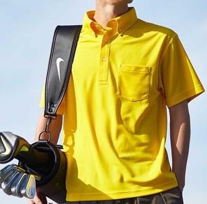 5921-01 4.1オンス ドライ アスレチック ポロシャツ (ボタンダウン)(ポケット付)