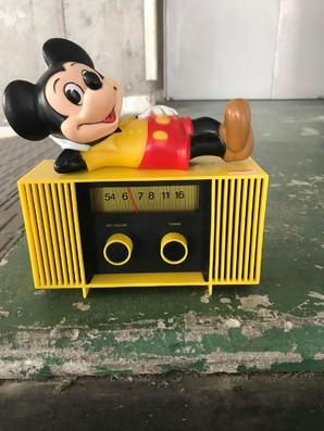 超レア!レトロ商品特価!超お宝ヴィンテージ物 ミッキーマウスラジオ 限定1個