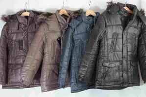 メンズ  マイクロ型押しプリント 中綿N3Bジャケット 4色展開 14枚セット