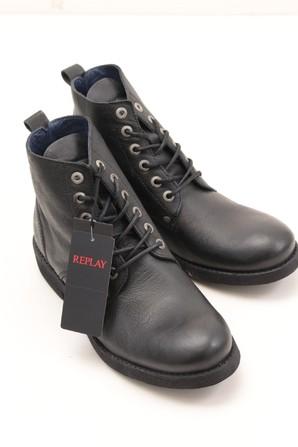 REPLAY特価SALE!REPLAYメンズブラインドブーツ ブラック ご購入の方プロ画像使用OK25㎝