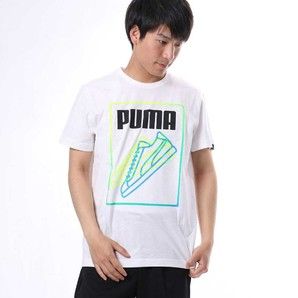 PUMA   (プーマ)メンズスニーカーラインSS Tシャツ 2カラー 1セット 16枚入り!!  上代2700円