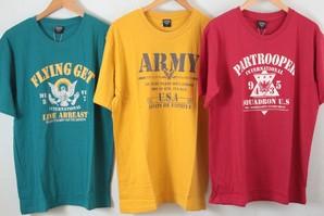 Campanello】 メンズ プリント 半袖Tシャツ 3柄展開 40枚セット  品番:MT192-003