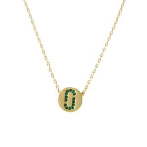 マークジェイコブス  クリスタル 「J」ロゴモチーフ ネックレス  M0011495