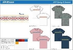 メンズ PIKO オルテガパネル 半袖Tシャツ 4色16枚入り 101928409