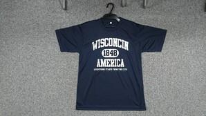 メンズ ドライ素材 プリント 半袖Tシャツ 2柄展開 30枚セット  品番:29-40076