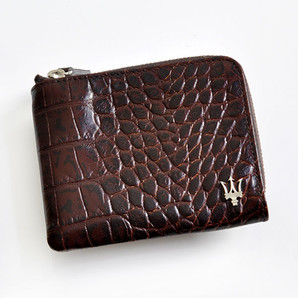 土曜市!(マセラティ) Maserati コインケースケース メンズ ブラウン 5個セット 定価20000円