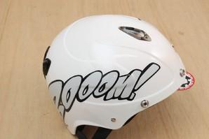 【BOOOM!】半キャップヘルメット ホワイトM 1点