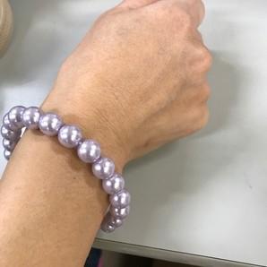 小ロット!雑貨問屋処分 模造真珠ブレス12ミリ玉 39個入り  しかも19円